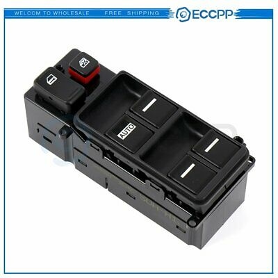 New Electric Power Window Switch Front Left for 2003-2007 Honda Accord 4 Door