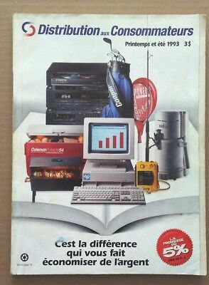 Consumers Distributing Store Catalog 1993 spring-summer SNES-Game Boy-Lego !!