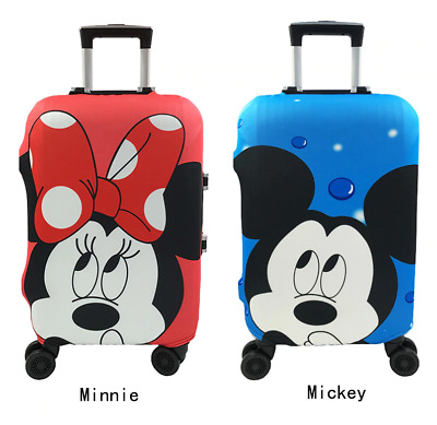 Minnie Mickey Mouse Luggage cover, Elastic case cover for suitcase DISNEY cover