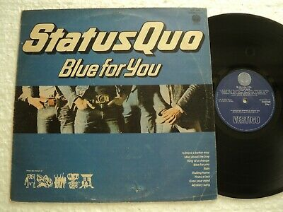 STATUS QUO - Blue for you  - Rare S.Rhodesia release LP