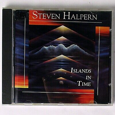 Steve Halpern - Islands In Time (CD Album, 1993 Open Channel) World Music Jazz