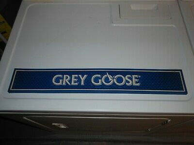 Grey Goose Vodka Bar Rail Mat.