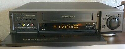 Panasonic NV-HS900 VHS / S-VHS Player + Remote