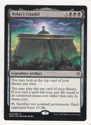 Magic The Gathering MTG WAR OF THE SPARK BOLAS/'S CITADEL Draft Promo Ships Now