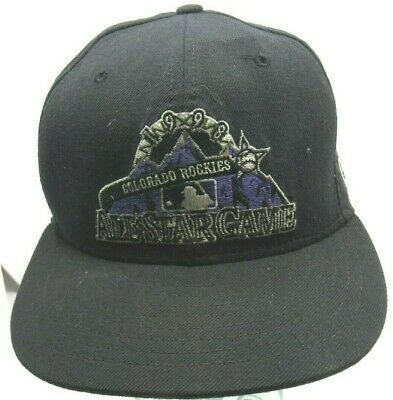 new styles 1bdf0 e2149 VTG Colorado Rockies - New Era - 1998 All Star Game- Fitted- USA Made
