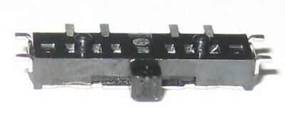 5 X 1 Pole / 3 Position Miniature SMD Slide Switch - 4 Pins - Alps SSSS8 Series