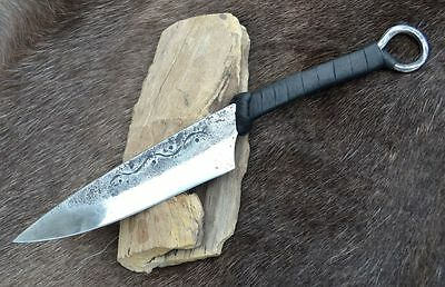 GAUL CELTIC KNIFE Hand Forged replica museum Iron Age cutlery re-enactment