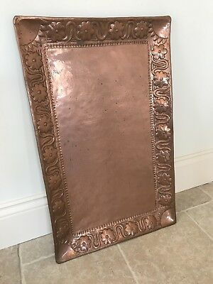 Antique Arts and Crafts JOHN PEARSON Copper Tray - Newlyn Guild of Handicraft