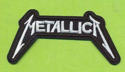 "* 3-3/4"" x 2"" METALLICA Patch Embroidered Sew On Patch  Free Shipping"