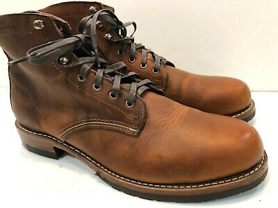 bfb79cd3ab0 WOLVERINE 1000 MILE EVANS BOOTS LEATHER MENS SIZES 11.5 D Copper Rub  (MSRP=$400)