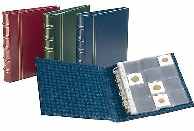 Lighthouse Classic Optima Coin Album Stamps Banknotes Collection (RED)