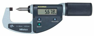 Mitutoyo 342-451 LCD Crimp Height Micrometer, Quickmike Type, 0-150mm