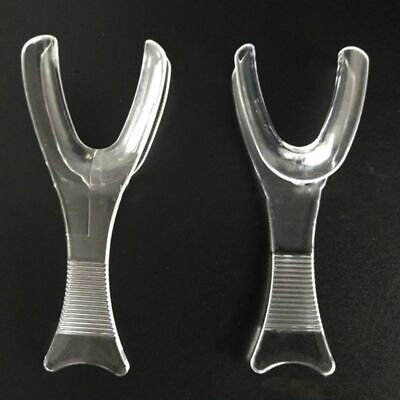 Dental Oral Cheek Retractor Mouth Opener White for Side Lip Expander Y-Shape