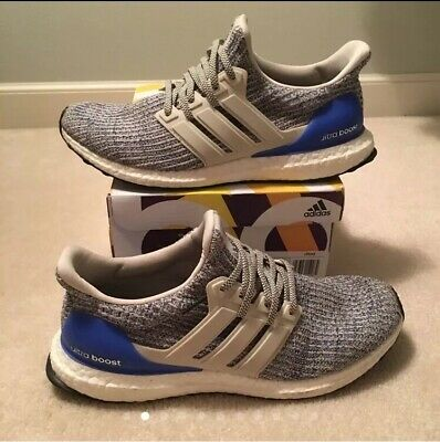 017085c60ae06 ADIDAS ULTRA BOOST 4.0 Chalk Pearl White Royal Blue DS Authentic ...