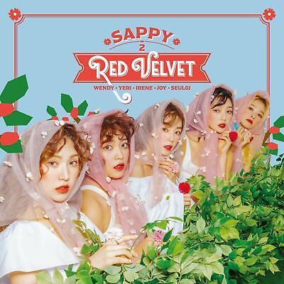 New Red Velvet SAPPY First Limited Edition CD DVD Card Japan AVCK-79593