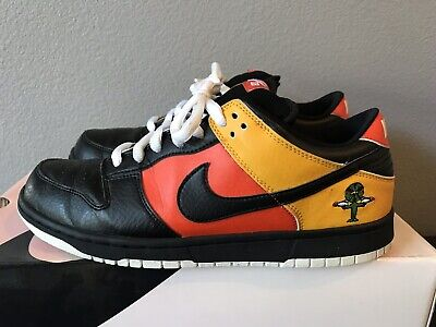 outlet store 6187c 25fa7 2005 Nike Dunk Low Pro SB Rayguns Home Black Sz 11 Rare Pink Box Great  Condition
