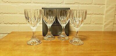 Mikasa Lead Crystal Set Of Four Old Fashioned Glasses