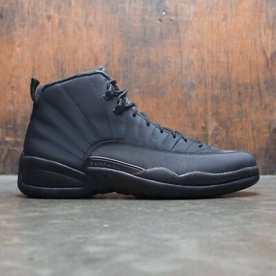 990a9a728967cb 2018 Nike Air Jordan 12 XII Retro Triple Black Winterized Size 11. BQ6851- 001