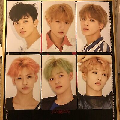 NCT Dream Official We Go Up Album Sticker Photocard (Matte ver) - Lee Jeno ONLY!