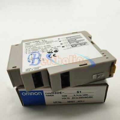 New 1PC H3DE-S1 Omron Time Relay