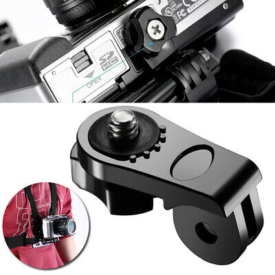 "Bridge Tripod Adapter Converter 1/4"" Screw Mount For Gopro Hero 5 4 3+ Camera"