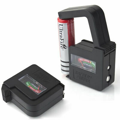 BT860 Universal Battery Volt Tester Checker AA AAA C D 9V 1.5V Button Cells