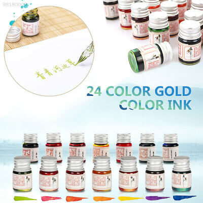 0761 5ml Non-Carbon Ink Fountain Pens Stationery Signature Pen Painting
