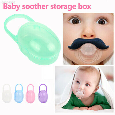 0842 5 Colors Baby'S Pacifier Box Cases Container Organizer Storage