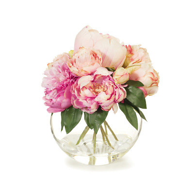 Artificial Flowers Peony Bouquet in Vase