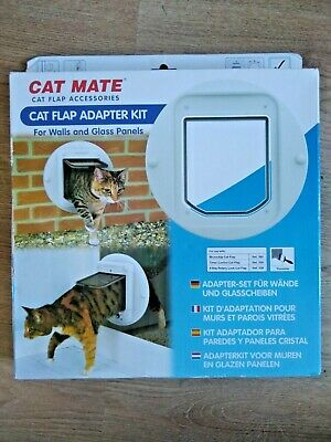 Cat Mate Cat Flap Adapter Kit for Walls and Glass Panels Easy Fit