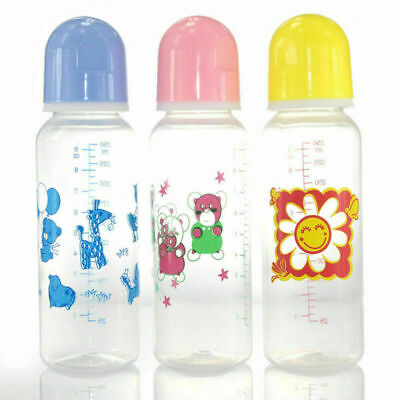 Baby Cereal Feeder Bottles Food Nurser Feeding Silicone Spoon Infant