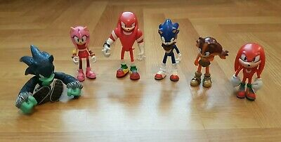 Jazwares Sonic The Hedgehog And Knuckles Figures 1250 Picclick Uk