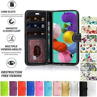 For Samsung Galaxy A20E Flip Book Pouch Cover Case Wallet PU Leather Card Slot