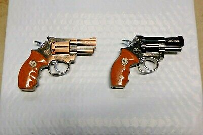 Large Magnum .357 Gun Shape Jet Torch Lighter USA Stocked And Shipped Magnom