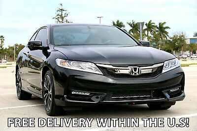 2017 Honda Accord * FREE DELIVERY! * -   LOADED EX-L! LOW MILES! 2017 Honda Accord EX-L EXL Coupe 2016 2018 Civic Camaro Ford Mustang Chevrolet