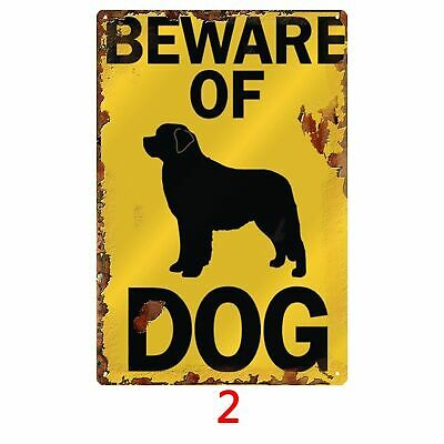 Beware of Tin Sign Pin-up Metal High Quality Party Style Home Decor Poster