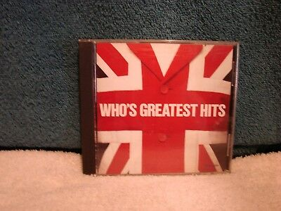 The Who's - Greatest Hits Cd, Mca