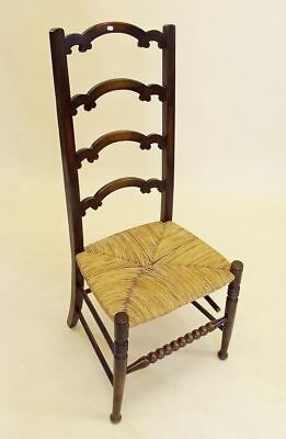 Arts and Crafts Rush Seated Chair #