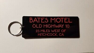 Bates Motel Room 1 inspired keychain key chain