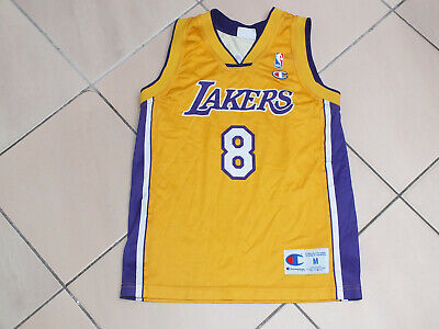 !! Maillot basket shirt jersey LAKERS KOBE BRYANT taille 9/10 ans !!