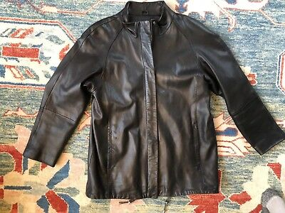 9fc2f5e86 WOMEN'S LNR EXCLUSIVE For Nordstrom Genuine Leather Jacket Coat Size ...