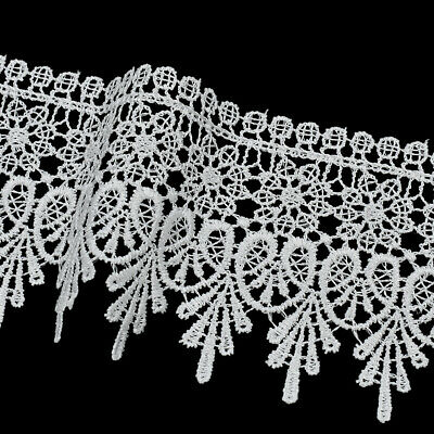 5 Yards Lace Trim Ribbon Lace Embroidered Edge DIY Sewing Craft Trimming