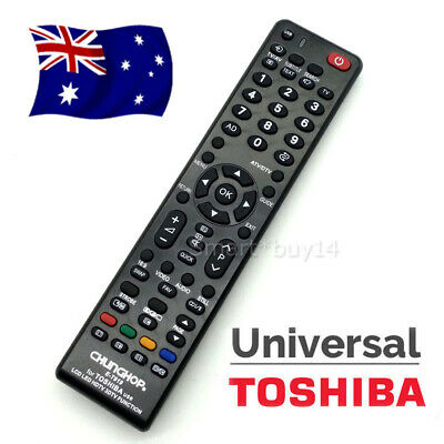 TOSHIBA Universal TV Remote Control Replacement For 3D HDTV LCD LED Smart TV OZ