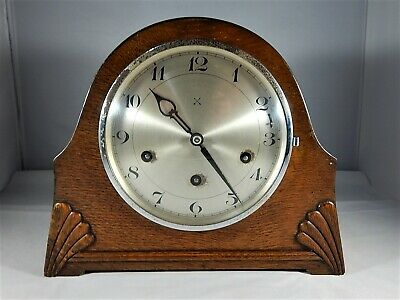 H.A.C. 8 Day Mantel Clock Supplied by Lisle & Son Exeter 1940