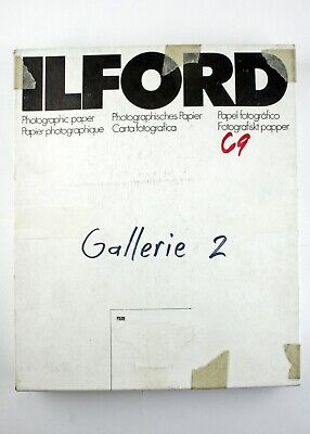 "195225 Ilford Galerie  8x10"" Grade 2 Glossy B&W Photo Paper 69 *EXPIRED* Sheets"