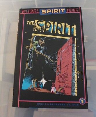 The Spirit Archives volume 1 Will Eisner Hardcover