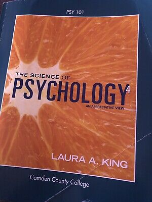 The Science of Psychology by Laura A. King (2016, Ringbound)