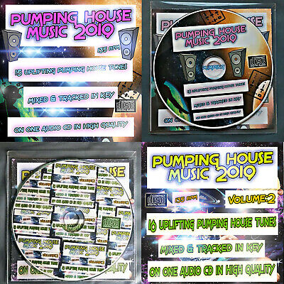Pumping House Music VOL 1&2 NEW 2019 DJ MIXED CD 🌟Bouncy Uplifting Club Dance🌟