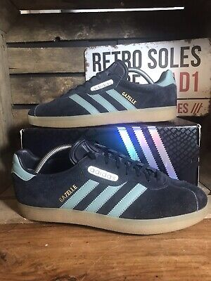 finest selection 76b83 6dbe4 Adidas Originals Gazelle Super Trainers UK Size 9 Blue Argie CW CG3275