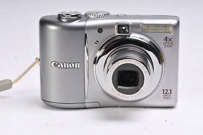 Canon Powershot A1100IS Compact Digital Camera Uses AA Batteries